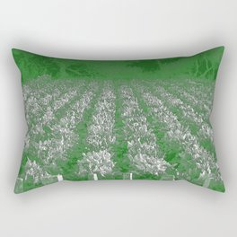 garden of swiss chard Rectangular Pillow