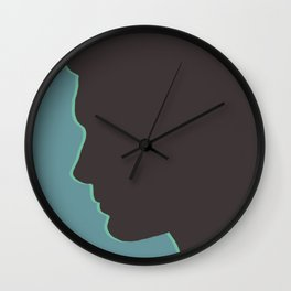 Dean Winchester / Jensen Ackles Supernatural (Silhouette Collection) Wall Clock