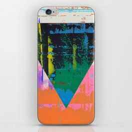 Color Chrome - triangle graphic iPhone Skin