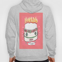 Why is it so damn HOT in here?!!! pink Hoody