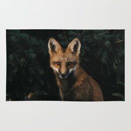 Foxing at me Rug