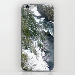 Cold stream iPhone Skin