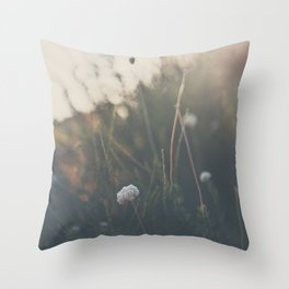 buckwheat ... Throw Pillow