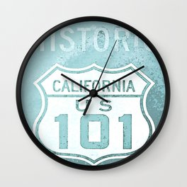 Route 101 Wall Clock