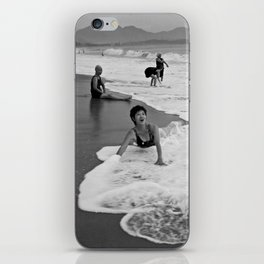 Bathing Woman in Vietnam - analog iPhone Skin