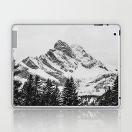black and white like forest and snow Laptop & iPad Skin