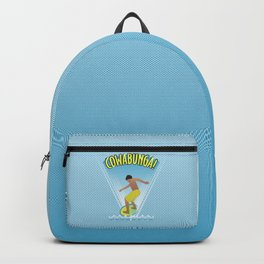 Cowabunga Flow-boarding Pop Art Backpack
