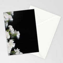 blur carnation Stationery Cards