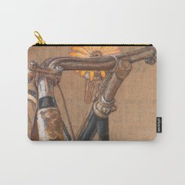 Pearl Street Vintage Bicycle Carry-All Pouch