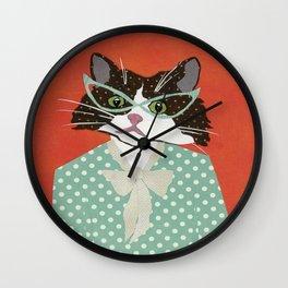 AristaCAT Wall Clock