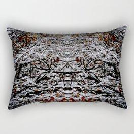 Marble Snow Rectangular Pillow
