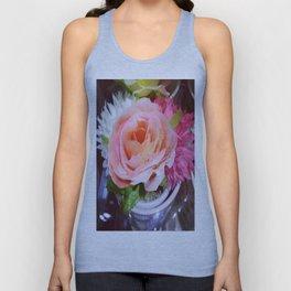 Beauty Flower Unisex Tank Top