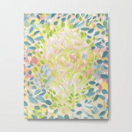 Abstract Flower Petals Metal Print