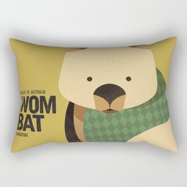 Hello Wombat Rectangular Pillow