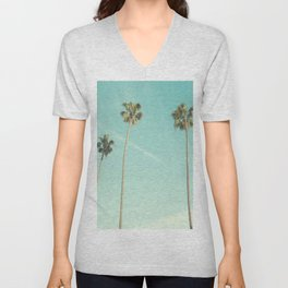 Palm Trees 2 Unisex V-Neck