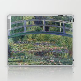 Water Lilies and the Japanese Bridge by Claude Monet Laptop & iPad Skin