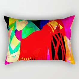 Dancing Sway Rectangular Pillow