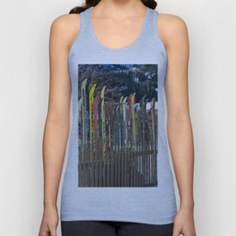 Colorado Ski Fence Unisex Tank Top