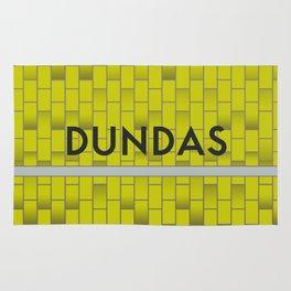 DUNDAS | Subway Station Rug