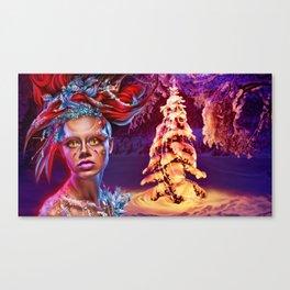 Merry wraith Xmas Canvas Print