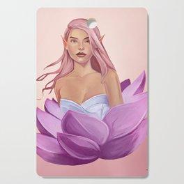 Lotus Flower Elf Cutting Board