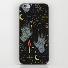 A Curse Upon You! iPhone Skin