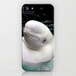 Beluga Whale iPhone Case