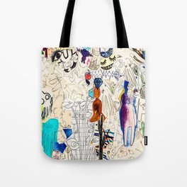 Collage 41 Tote Bag