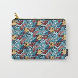Milk and Cookies Carry-All Pouch