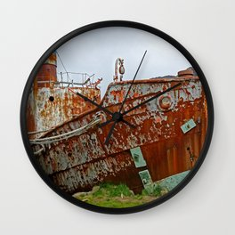 Past its Best Wall Clock