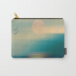 Serene and Tranquil Waters - Painterly  Carry-All Pouch