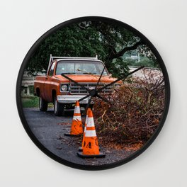 Don't let anything stops you from your adventure Wall Clock