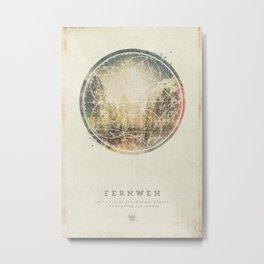 Fernweh Vol 7 Metal Print