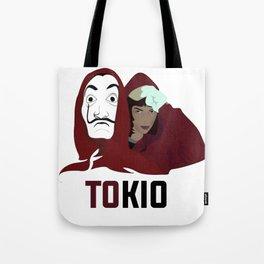 la casa de papel tee shirt TOKIO Tote Bag
