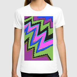 Zippy Zig Zags T-shirt