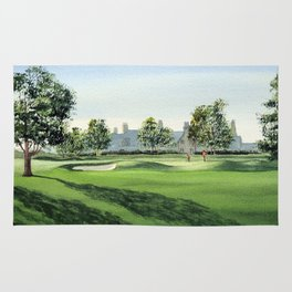 Winged Foot Golf Course New York Rug
