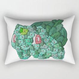 The Giant Bulba saur Rectangular Pillow