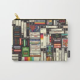 Cassettes, VHS & Games Carry-All Pouch