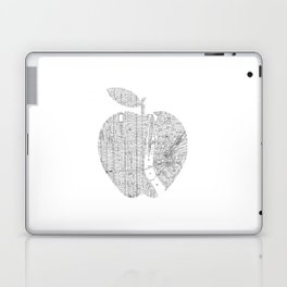 New York City big apple Poster black and white I Heart I Love NYC home decor bedroom wall art Laptop & iPad Skin