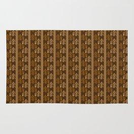 chimu monkey pattern Rug