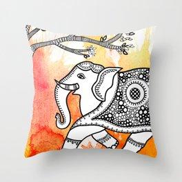 Animal series - ELEPHANT Throw Pillow