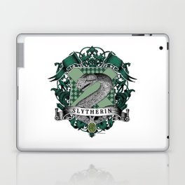 Slytherin Color Crest Laptop & iPad Skin