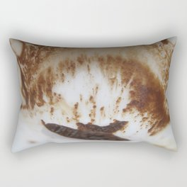 Ocean and boat and sand storm Rectangular Pillow