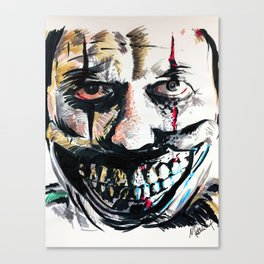 Twisty the Clown Canvas Print