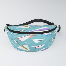 Aeroplanes - Paper Airplanes Pattern Fanny Pack