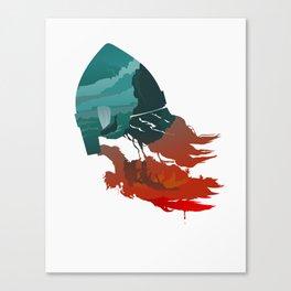 Viking god Canvas Print