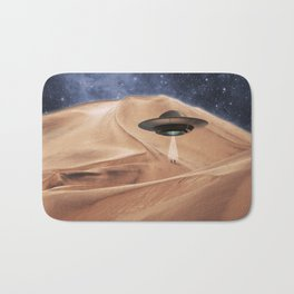 ALIEN DESERT ABDUCTION Bath Mat