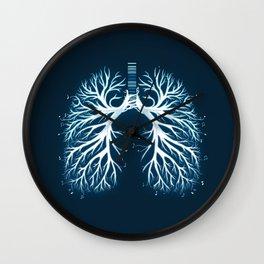 I Breathe Music Wall Clock