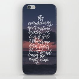 Reckless Love iPhone Skin