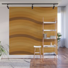 Honey Waves Wall Mural